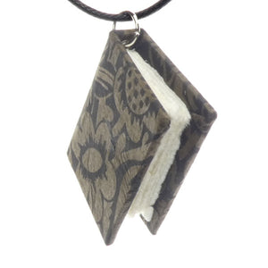 Bookbound Necklace - Black