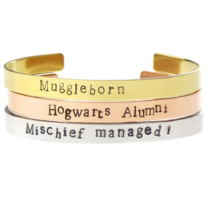 Harry Potter Bangle Set