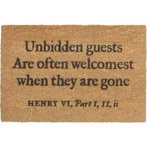 Shakespeare Doormat