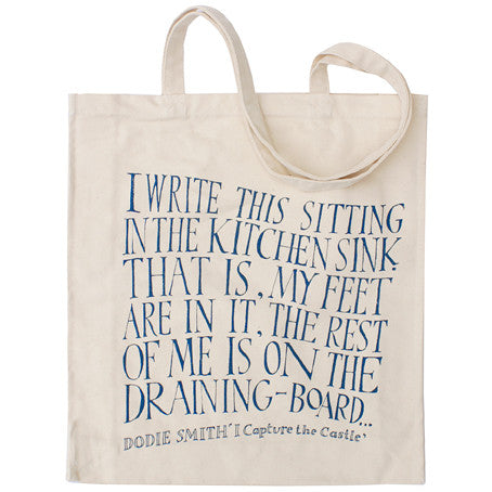 I Capture the Castle - Dodie Smith - Canvas Shopper - The Literary ...