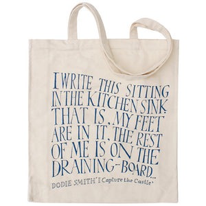 I Capture the Castle - Dodie Smith - Canvas Shopper