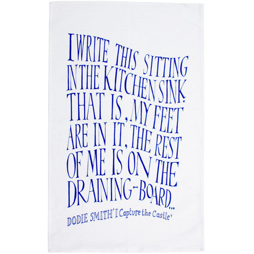 I Capture the Castle Tea Towel