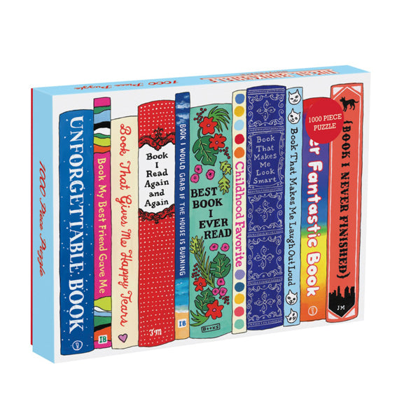 Ideal Bookshelf 1000-piece Jigsaw
