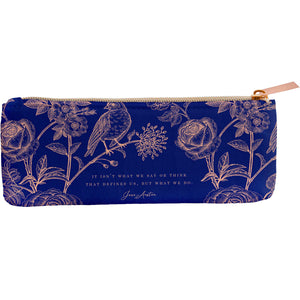 Jane Austen: The Comfort of Home Pencil Pouch