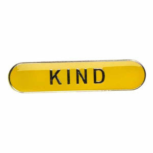 Badge of Honour: 'Kind' Enamel Pin
