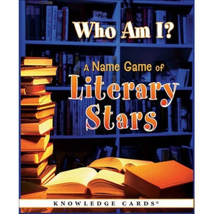 Knowledge Cards - Who Am I? A Name Game of Literary Stars
