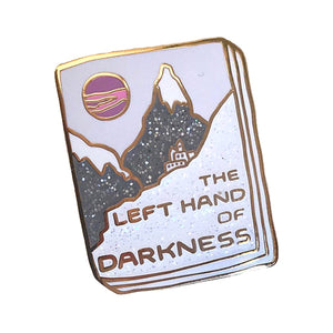 The Left Hand of Darkness Enamel Pin