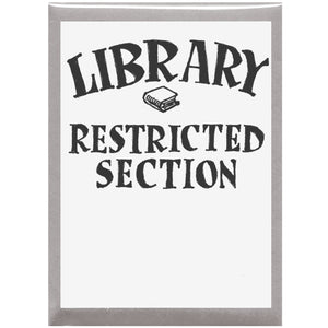 Library Restricted Section Bookplates
