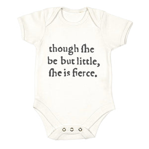 'Though She Be But Little' Babygro