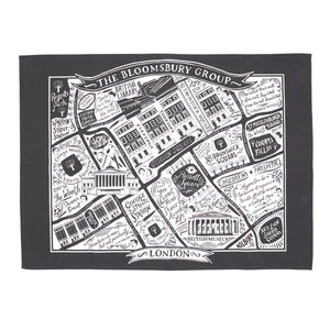 Literary London Tea Towel