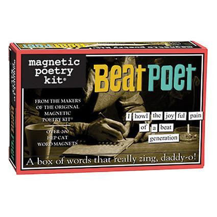 Magnetic Poetry - Beat Poet Edition