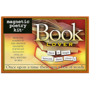 Magnetic Poetry - Book Lover Edition