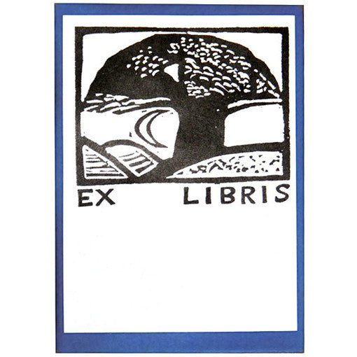 Moon and Tree Bookplates
