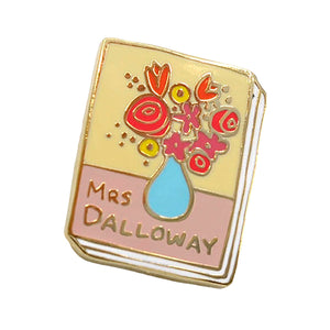 Mrs Dalloway Enamel Pin