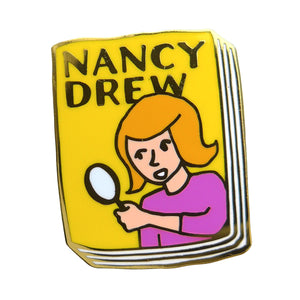 Nancy Drew Enamel Pin