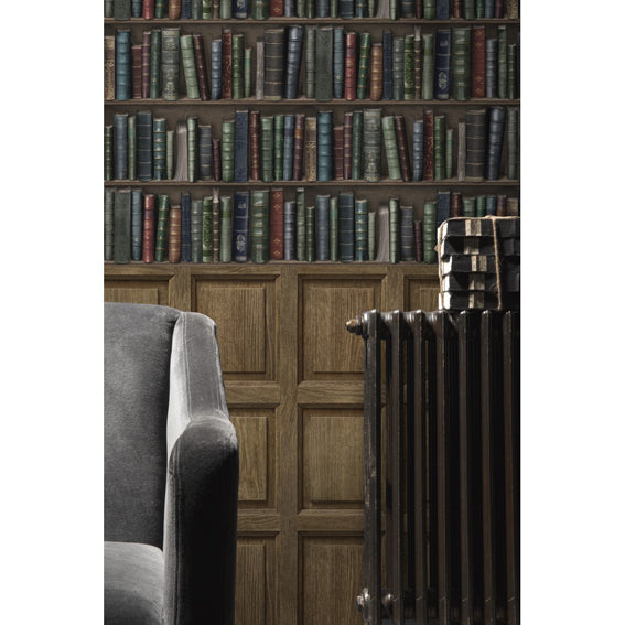Oxford Bookshelves Wallpaper