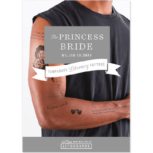 The Princess Bride Temporary Tattoos