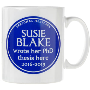 Personalised Heritage Mug