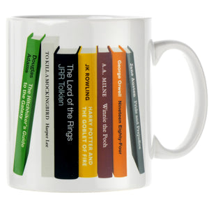 Personalised Bookshelf Mug