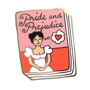 Pride And Prejudice Enamel Pin