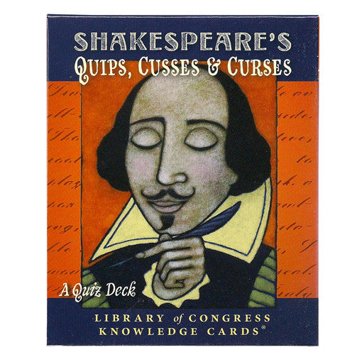Shakespeare's Quips, Cusses & Curses Quiz Game