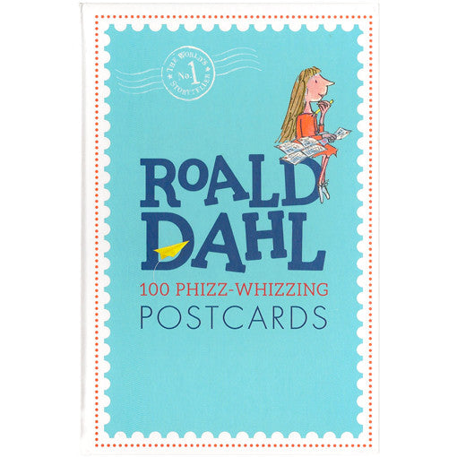 Roald Dahl Postcard Box - 100 Phizz-Whizzing Postcards