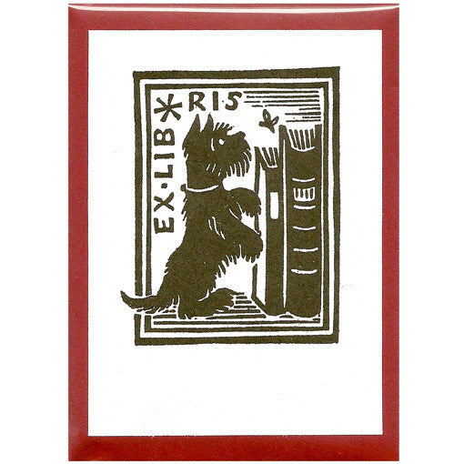 Scottie Dog Bookplates