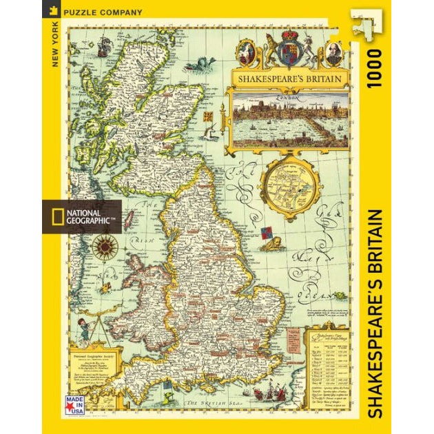 Shakespeare's Britain Jigsaw Puzzle
