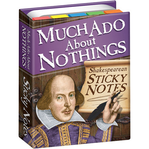Much Ado About Nothing Sticky Notes