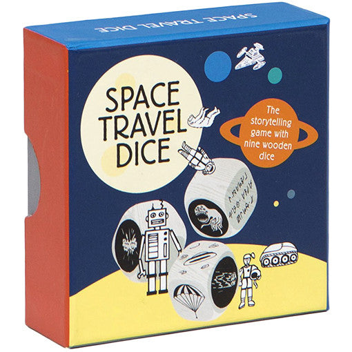 Space travel Story Dice