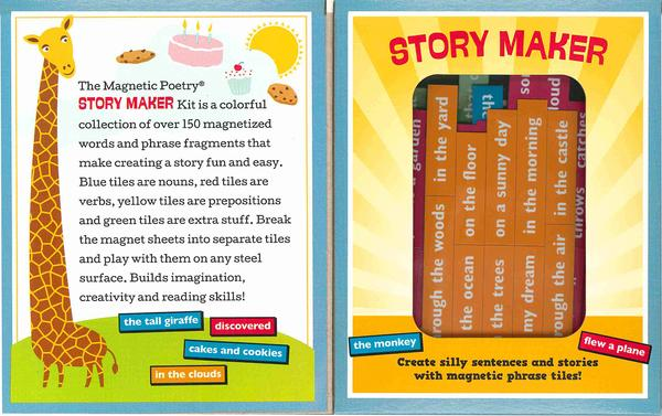 Magnetic Poetry: Kids Storymaker Edition