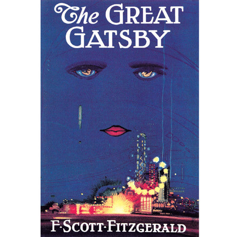 the great gatsby poster the literary gift company