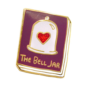 The Bell Jar Enamel Pin