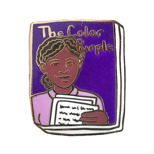 The Color Purple Enamel Pin