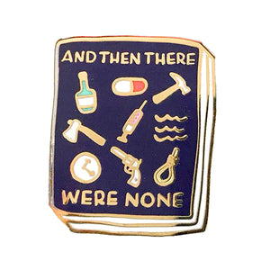 And Then There Were None Enamel Pin