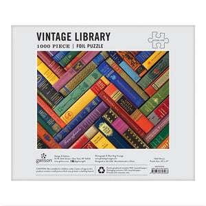Vintage Library 1000 Piece Jigsaw Puzzle
