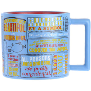 Kurt Vonnegut Quotations Mug