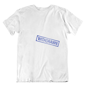 'Withdrawn' Library T-shirt