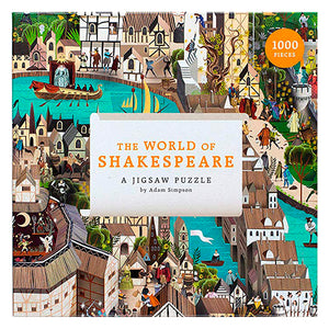 The World Of Shakespeare 1000-piece Jigsaw Puzzle