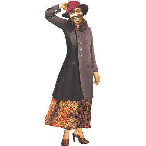 Zora Neale Hurston Shaped Card