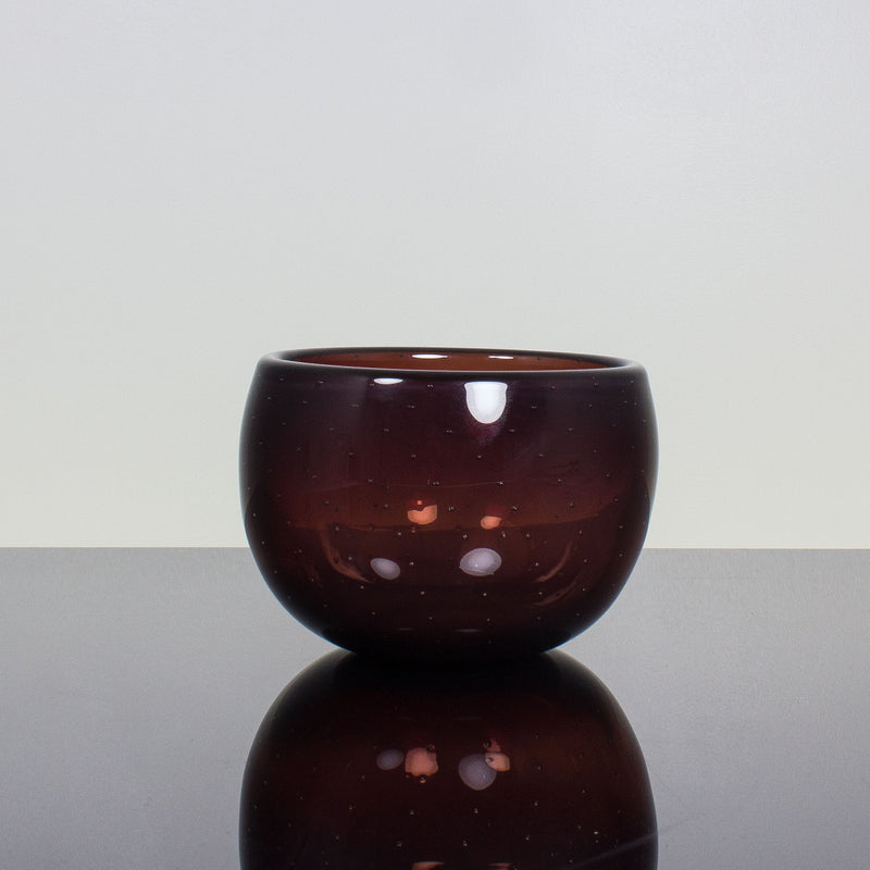 Maroon Bubble Bowl