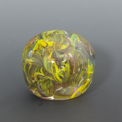 Bright Yellow Paperweight