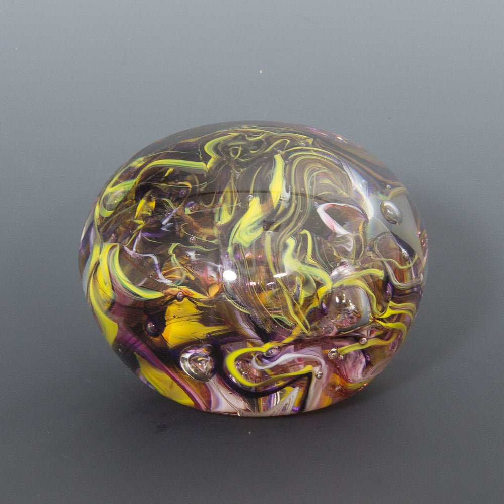 Yellow Storm Paperweight