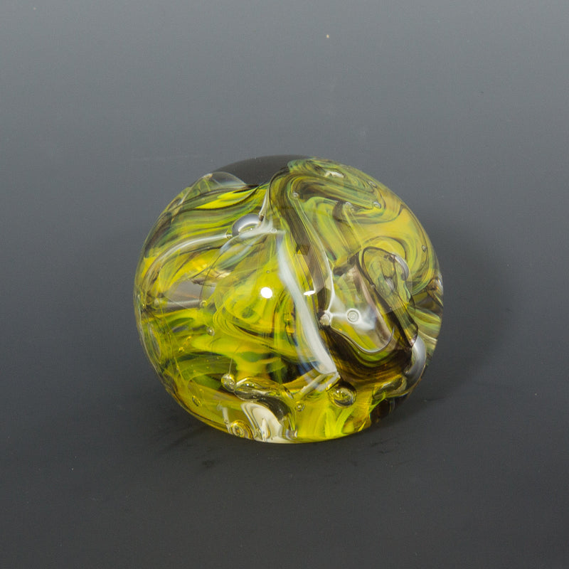 Electric Yellow Paperweight