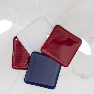 Patriotic Coasters Double Red