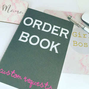 Notebook - order book