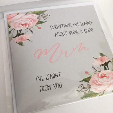 Mother's Day card - Good Mum
