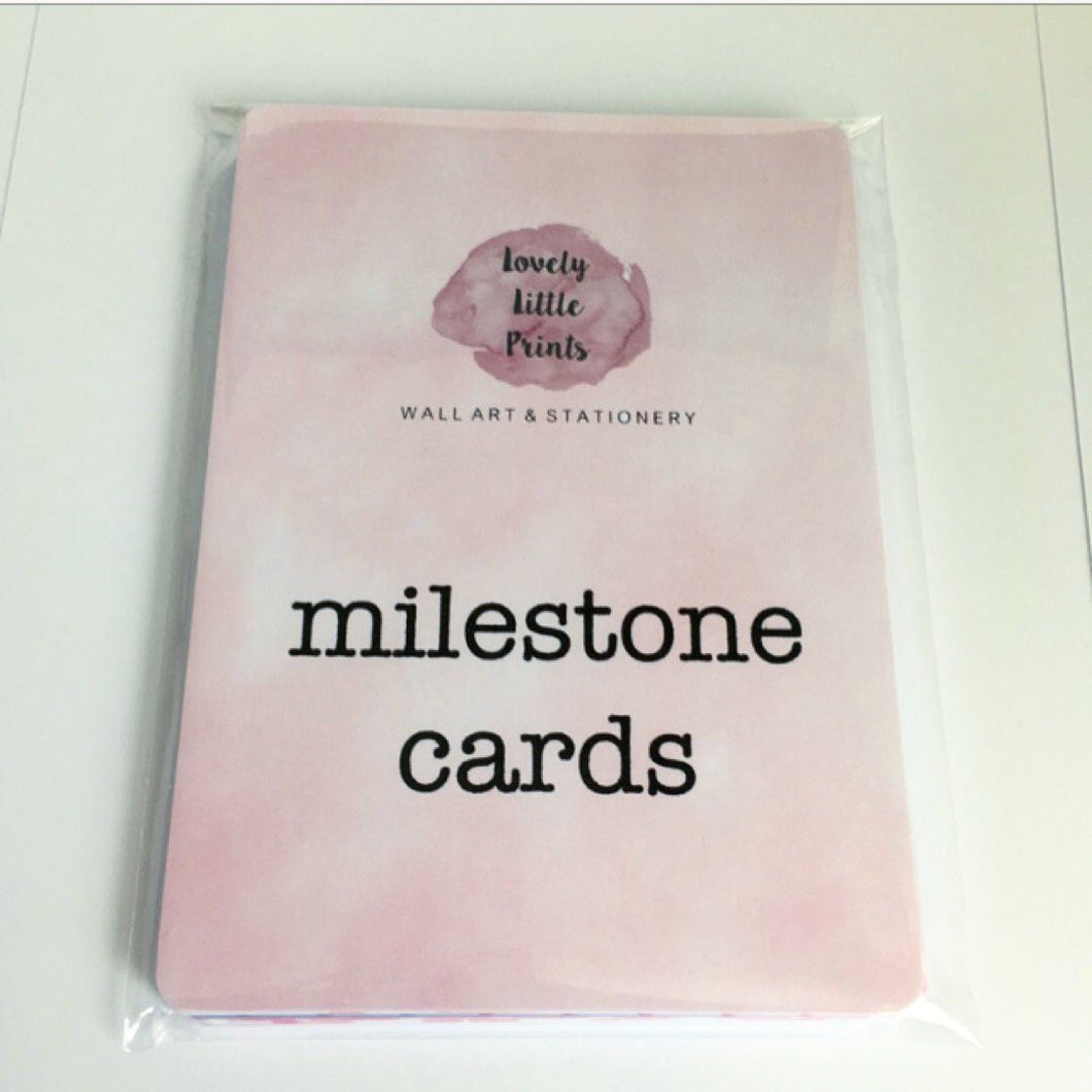 Alternative funny milestone cards