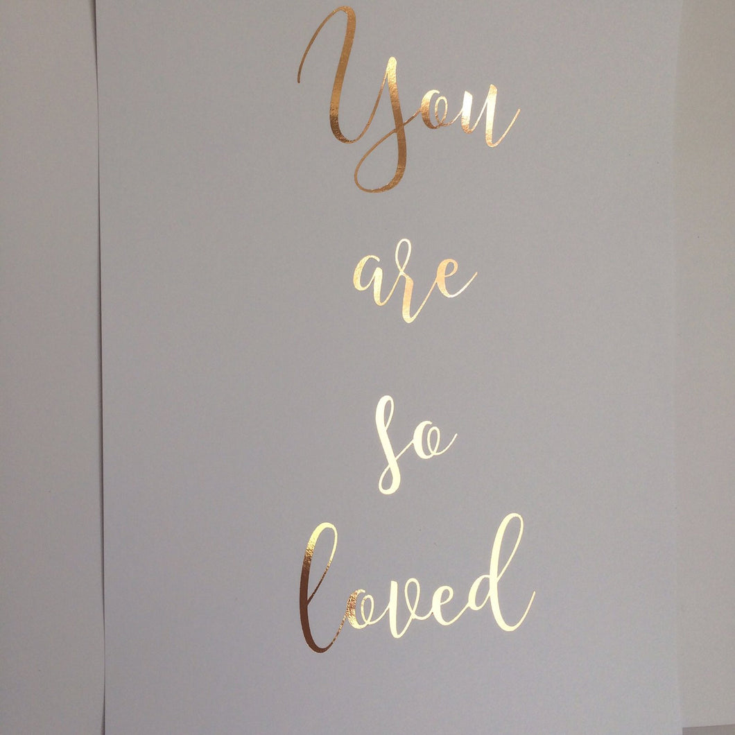 Foil - you are so loved
