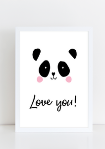 Cutie Pie - Panda (Love you!)